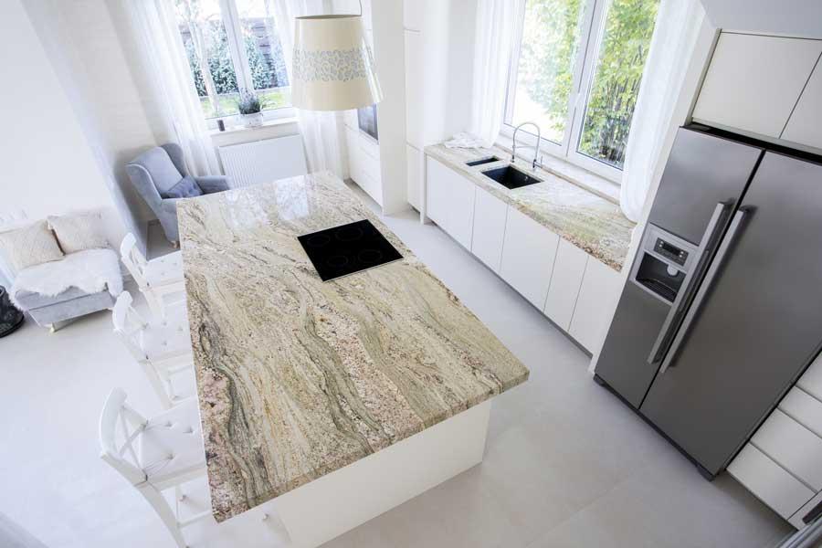 La cucina open space ideale