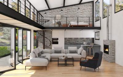 In salotto con stile: divani e poltrone, complementi d'arredo, lampade, tende e tappeti